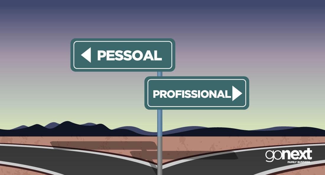 Como separar o pessoal do profissional na empresa familiar?