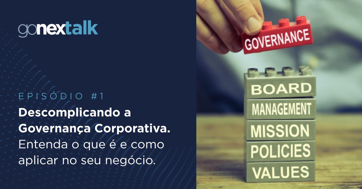 podcast de Governança Corporativa
